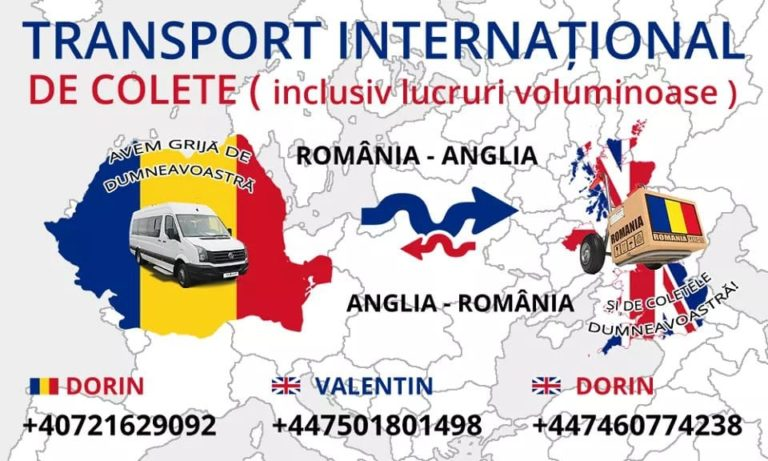 Transport Internațional de colete